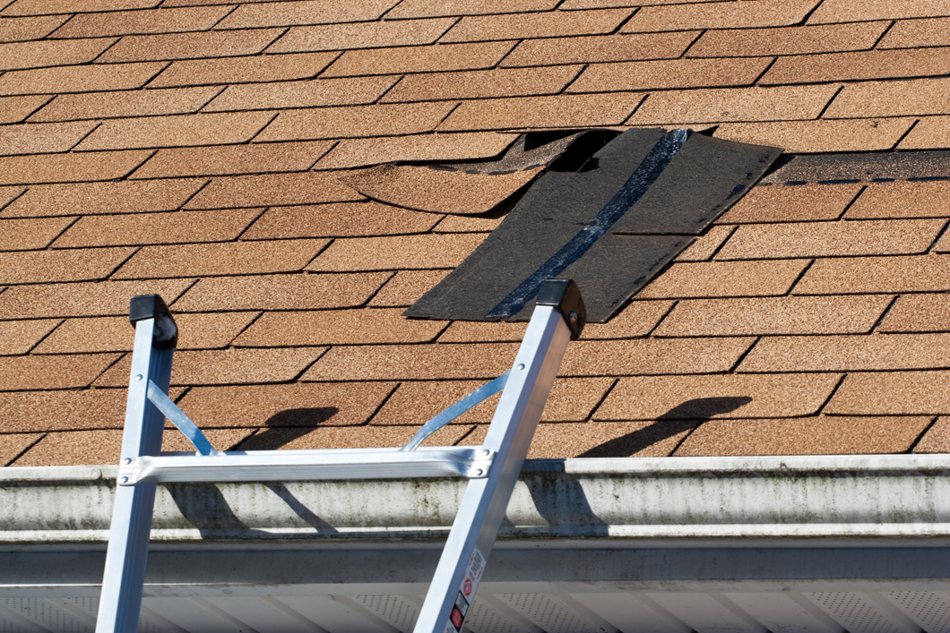 Get your roof repaired ASAP